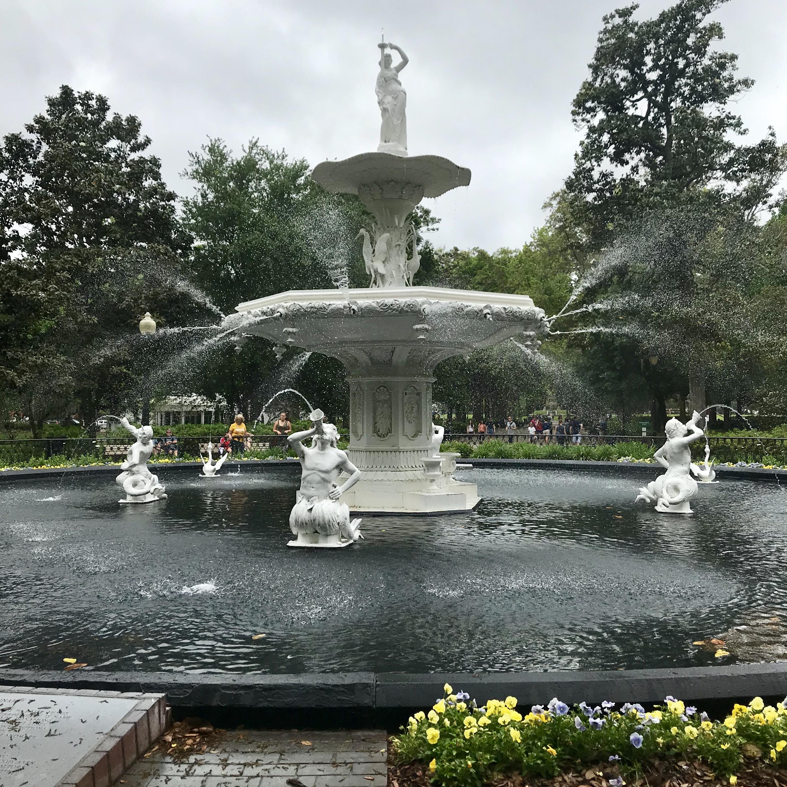 Long Weekend in Savannah: Forsyth Park